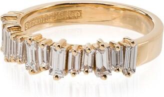 Suzanne Kalan 18kt Baguette Ring