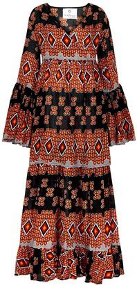 Bea Yuk Mui printed cotton maxi dress