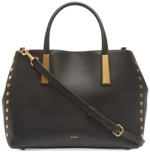DKNY Ewen Pebble Leather Work Tote, Created for Macy's