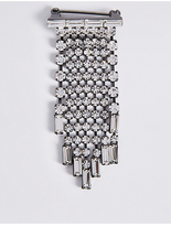 M&S Collection Fringe Brooch