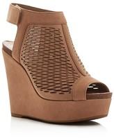 Vince Camuto Kyrene Peep Toe Platform Wedge Sandals