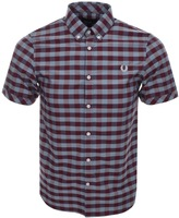 Fred Perry Bold Gingham Shirt Red