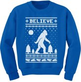 TeeStars Bigfoot I Believe Sasquatch Xmas Ugly Christmas Toddler/Kids Sweatshirts