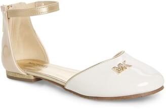 MICHAEL Michael Kors Kitten Kaisa Glitter Heel Sandal