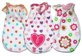 Sozo Girls' 3-Pack Assorted Prints Scratch Free Mittens