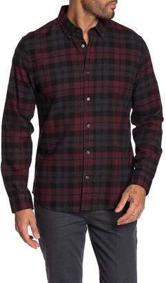 Slate & Stone Long Sleeve Front Button Plaid Shirt