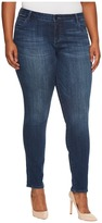 KUT from the Kloth Plus Size Diana Skinny in Moderation/Dark Stone Base Wash Women's Jeans