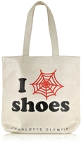 Charlotte Olympia I Love Co Shoes Eco Leather Tote