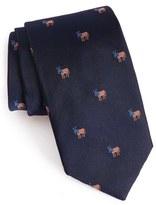Vineyard Vines 'Donkeys' Print Silk Tie