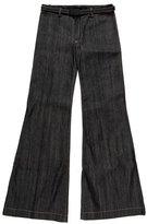 Balenciaga Mid-Rise Wide-Leg Jeans w/ Tags