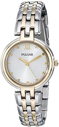 Pulsar Women's PH8128 Two-Tone Stainless Steel Watch