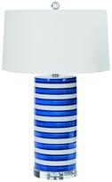 Regina-Andrew Design Striped Column Ceramic Table Lamp
