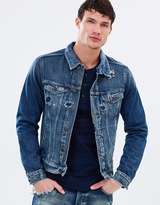 Scotch & Soda Amsterdams Blauw Trucker Jacket