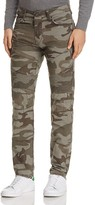 True Religion Geno Moto Skinny Fit Jeans in Digl Rippe