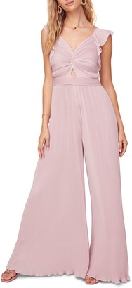 ASTR the Label Golden Hour Wide Leg Jumpsuit