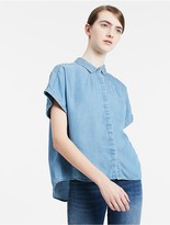 Calvin Klein Boxy Denim Shirt