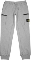 Stone Island Grey Cotton Jogging Trousers