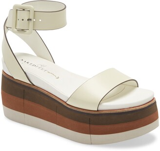 Naked Feet Altezza Platform Wedge Sandal