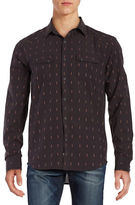 Lucky Brand Martin Western Point Collar Shirt
