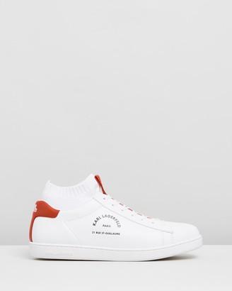 Karl Lagerfeld Paris Kupsole II Maison Lace Lo Sneakers