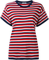 P.A.R.O.S.H. striped knitted T-shirt - women - Silk/Cashmere - XS