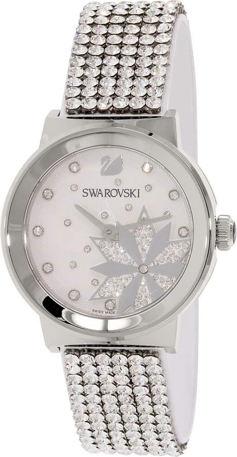 Swarovski Women's 5040326 Leather Swiss Quartz Watch