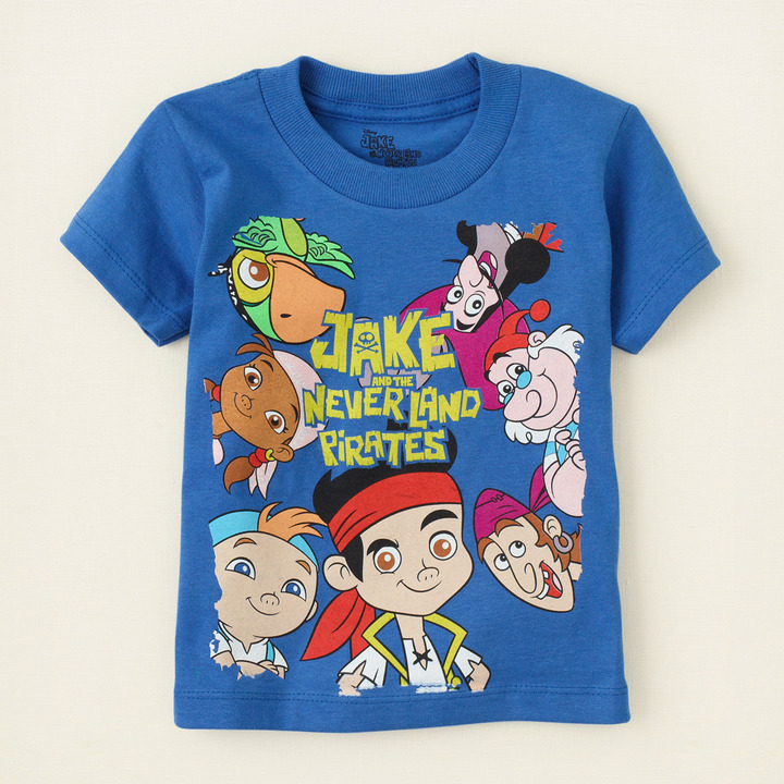 Children's Place Jake and the Never Land Pirates graphic tee