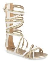MICHAEL Michael Kors Girl's Demi Kayla Gladiator Sandal