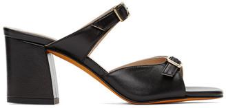 Maryam Nassir Zadeh Black Una Sandals