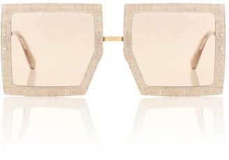 Jacquemus Les lunettes carrees sunglasses