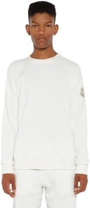 MONCLER GENIUS Awake Nyc Cotton Sweatshirt