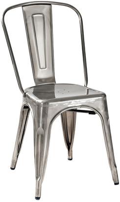 Crosley Set Of 2 Amelia Metal Cafe Chairs