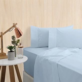 Bas Phillips Premium Bedding 400TC Bamboo Sheet Set King Bed Blue Dream