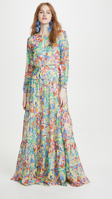 Saloni Isabel Long Dress