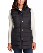 Weatherproof Black Long Down Vest