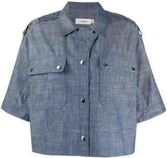 Coach Boxy denim shirt