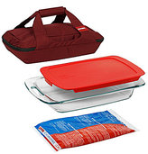 Pyrex Portable 4-Piece Set