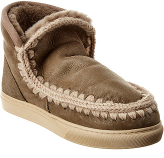 Mou Eskimo Suede Sneaker Bootie
