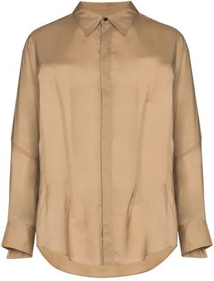 Sulvam Wings slim-fit shirt