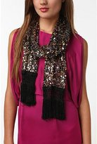 Urban Outfitters Sequin Embellished Scarf