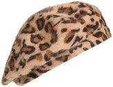 Leopard Print Beret