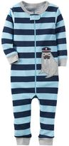 Carter's Toddler Boy Striped One-Piece Pajamas
