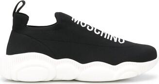 Moschino Logo Sock Sneakers
