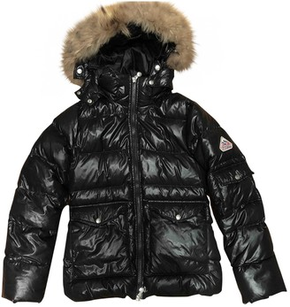 Pyrenex Black Fur Coat for Women