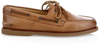 Sperry Gold Cup Authentic Original Burnished Leather Boat Shoes