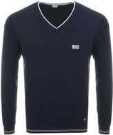 BOSS GREEN Vime Knitted Jumper Navy