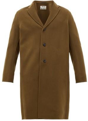 Acne Studios Chad Wool Overcoat - Mens - Brown