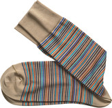 Johnston & Murphy Multi Mini Stripe Socks