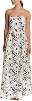 Julie Brown Strapless Maxi Dress