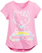 Hello Kitty Graphic-Print T-Shirt, Toddler and Little Girls (2T-6X)